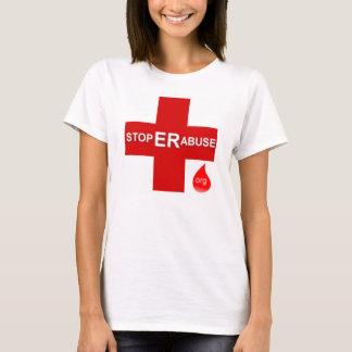 Kvinna T-tröjamedel Tee Shirt