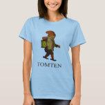 Kvinna Tomten T-tröja T-shirts