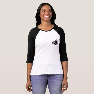 Kvinna tshirt för kanfas för sleeve för tee shirts