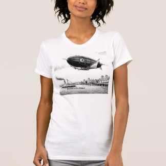 """Kvinna """"utslagsplats för Razorback för hamn"""" T-shirt"""