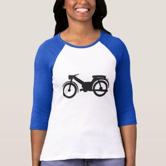 Kvinna varade nedstämd skjorta t-shirts