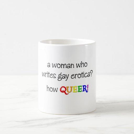 Kvinnaförfattare Kaffe Mugg