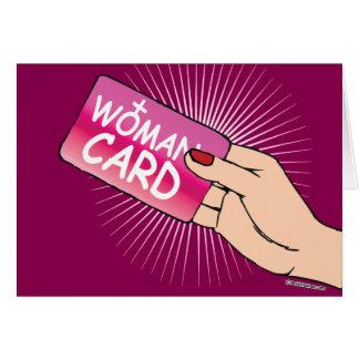 Kvinnakortet Hälsningskort
