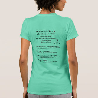 KvinnaNobel pris i kemi T Shirts