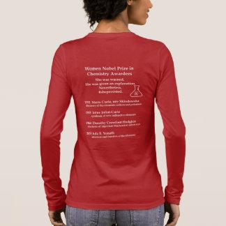 KvinnaNobel pris i kemi Tee Shirt