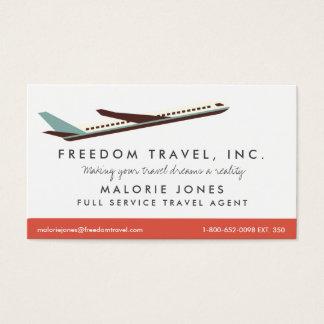Kvinnaresebyråman reser byråvisitkorten visitkort