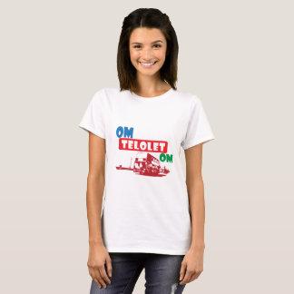 KvinnaT-tröja för Om Telolet Om T-shirt