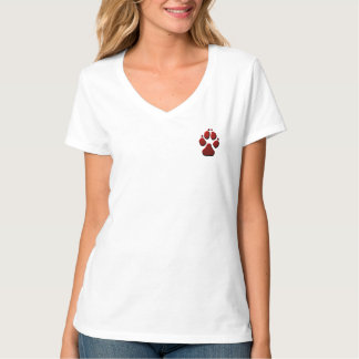 Kvinnlig alfabetisk t shirt