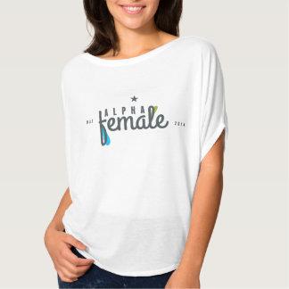 Kvinnlig alfabetisk t-shirts