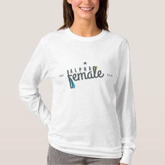 Kvinnlig alfabetisk tee shirt