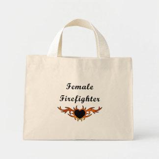 Kvinnlig brandmantatuering mini tygkasse