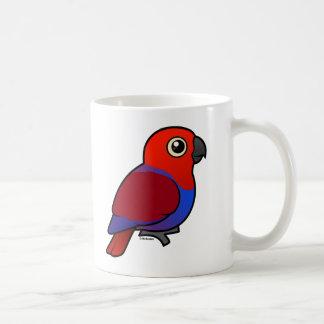 Kvinnlig Eclectus papegoja Kaffemugg