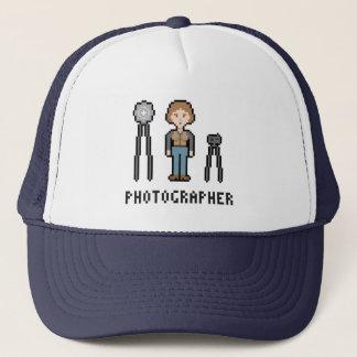 Kvinnlig fotograf för PIXEL Keps