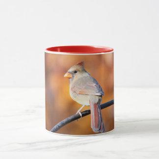 Kvinnlig kardinal 2716 mugg