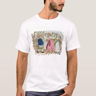 Kvinnlig påverkan eller den Devonshire kanfasen T-shirts