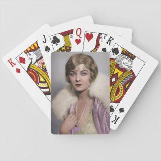 Kvinnor av twentiesna casinokort