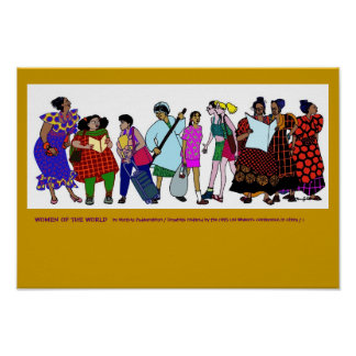 Kvinnor av världsAFFISCHEN Poster