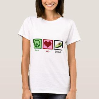 Kvinnor för fredkärlekavokado tee shirts