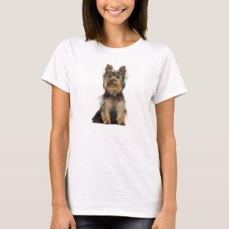 Kvinnor för hund för valp för Yorkshire Terrier T Shirt