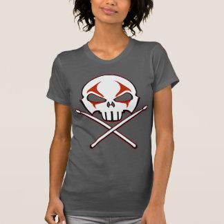 Kvinnor för skjorta för sten- & rulltanktopheavy tee shirt