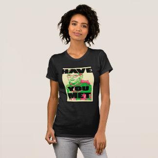 Kvinnor har dig den mötta Travis T-TRÖJA T-shirts