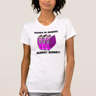 kvinnor i limbindningar mot Romney Tshirts