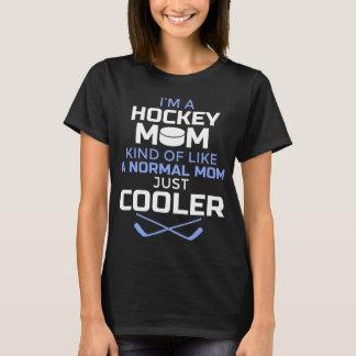 Kvinnor kyler skjortan för hockeymamma T - gåvan Tröja