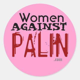 Kvinnor mot den Palin klistermärken