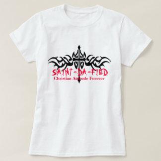 Kvinnor SAINT-DA-FIED, kristna Atti… Tshirts