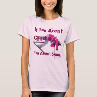 Kvinnor skidar T-tröja Tee Shirts