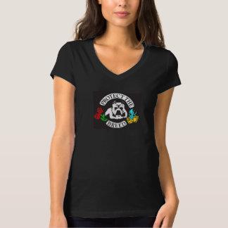 Kvinnor skyddar skjortan för avelgroptjuren t-shirt
