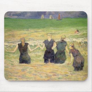 Kvinnor som badar Dieppe av Paul Gauguin Musmatta