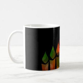 Kwanzaa Bokeh Kinara Kaffemugg