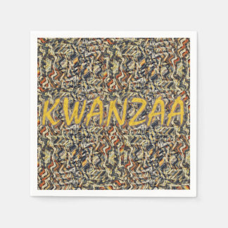 Kwanzaa Holiday-31 Pappersservetter