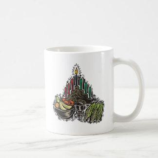 Kwanzaa mat kaffemugg