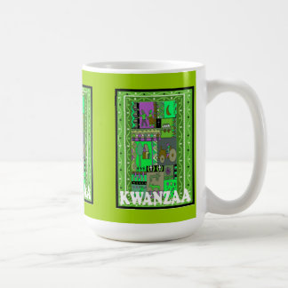 Kwanzaa mugg, byliv kaffemugg