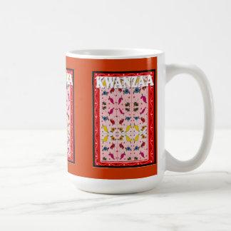 Kwanzaa mugg, etniskt mönster kaffemugg