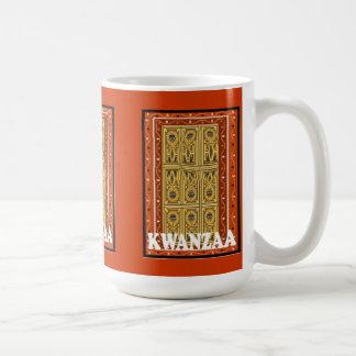 Kwanzaa mugg, traditionell symbolism kaffemugg