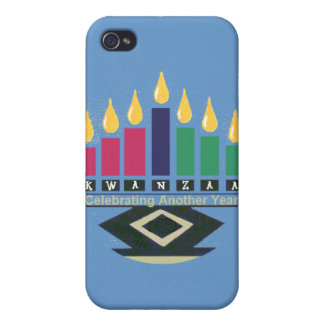 KWANZAA Speckfodral iPhone 4 Cover