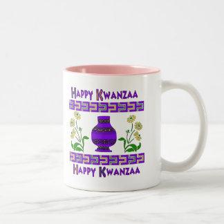 Kwanzaa vas Två-Tonad mugg