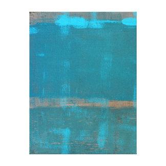 """""""Kyld"""" abstrakt konst för kricka Canvastryck"""