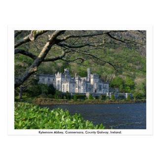 Kylemore Abbey, Connemara, Co. Galway Vykort