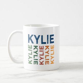 Kylie gulligt färgrikt kaffemugg