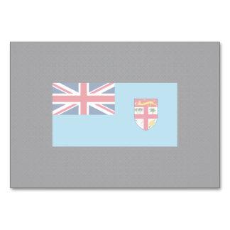 Kylig flagga av Fiji Bordsnummer