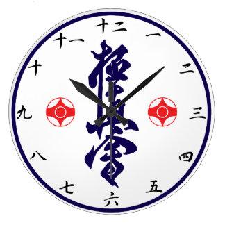 Kyokushin KarateKanji tar tid på Stor Klocka