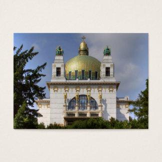 Kyrka av St. Leopold Wien Österrike Visitkort