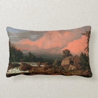 """Kyrka dekorativ kudde """"för Rutland nedgångar"""""""
