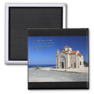 Kyrka för Psalm 113-3 Cypern Magnet