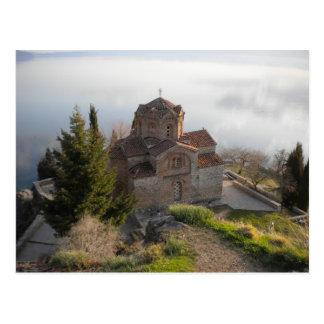 Kyrka för St. Jovan, Makedonien Vykort