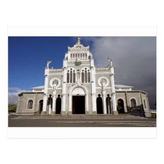 kyrka i Costa Rica Vykort